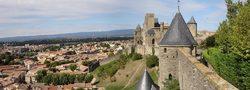 Castillo y murallas de la ciudad de Carcasona