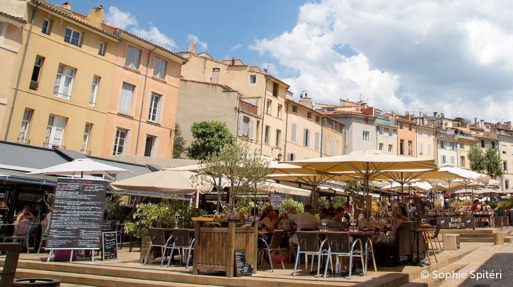 City Pass Aix-en-Provence - Place des CardeursCity Pass Aix-en-Provence - Place des Cardeurs © Sophie Spitéri