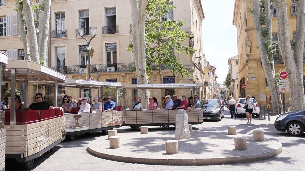 City Pass Aix-en-Provence - Le Petit Train Touristique © Nina Mercurio