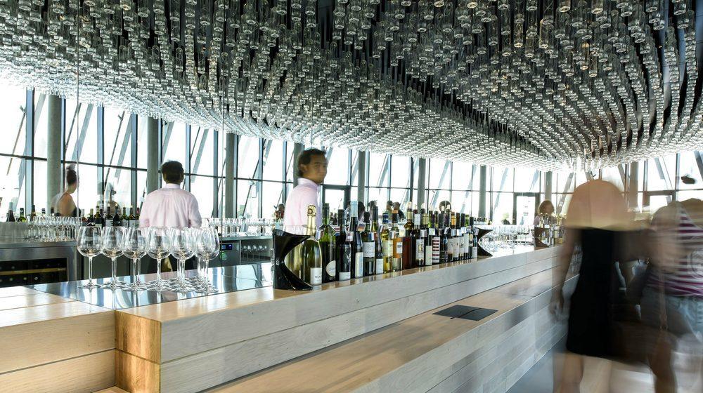 Bordeaux - La Cité du Vin : Le Belvédère Crédits de la photo : Photos Anaka/ La Cité du Vin/ XTU Architects