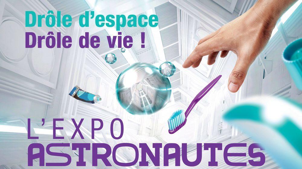 Toulouse - Cité de l'espace - L'expo Astronautes!