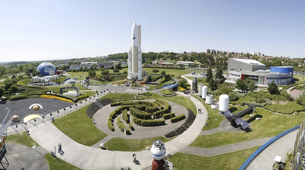 Toulouse - Cité de l'espace : vue d'ensemble du parcToulouse - Cité de l'espace : vue d'ensemble du parc © Cité de l'espace