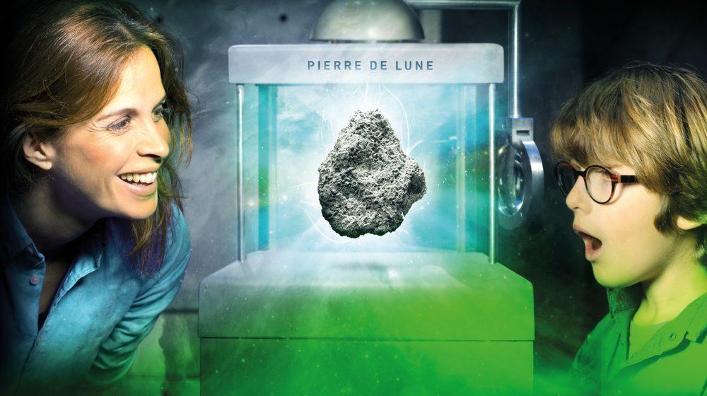 Toulouse - Cité de l'espace : Pierre de Lune