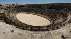 Arènes de Nîmes : Vue intérieure