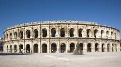Arènes de Nîmes : Vue extérieure panoramique © C.Recoura