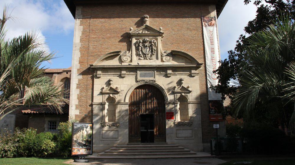 Toulouse - Musée des Augustins : Entrée du Musée des Beaux arts (Augustins) By Pistolero, CC BY 3.0