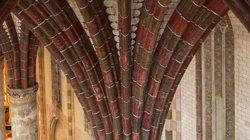 Toulouse Couvent des Jacobins Un aperçu insolite du palmier©Jacques-Sierpinski