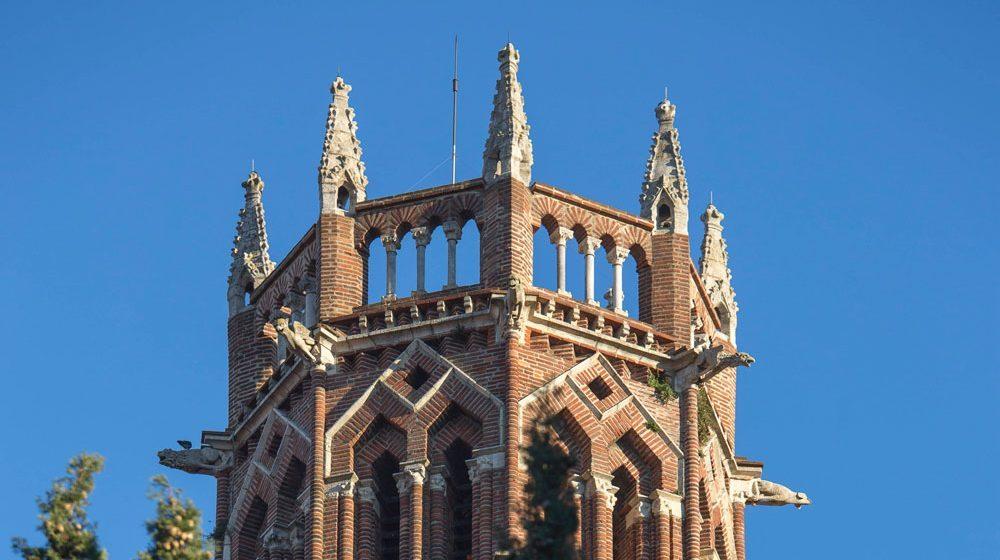 Toulouse Couvent des Jacobins Le clocher ©Jacques Sierpinski