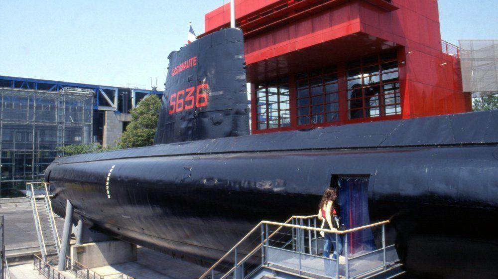 Le sous-marin Argonaute