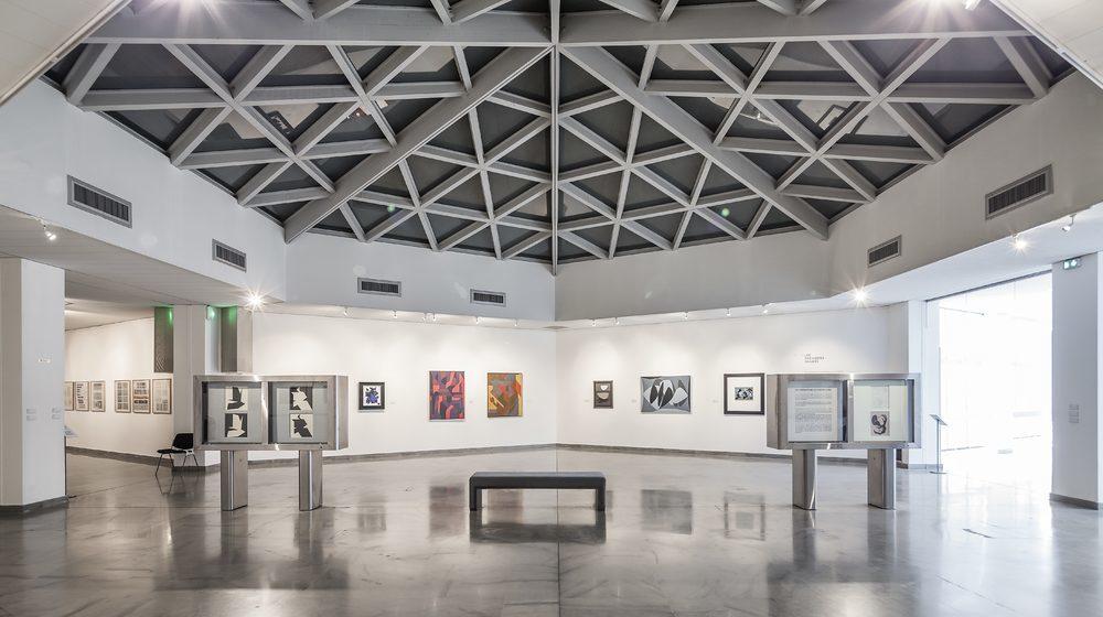 Fondation Vasarely - Espace 4, 5, 6 au 1er étage - Fondation Vasarely © Aldo Amoretti