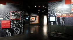 Permanent exhibition; the globalisation of the war