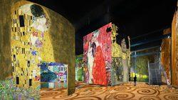 Simulation de l'exposition - © Culturespaces / Nuit de Chine