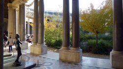 Jardin et colonnade du Petit Palais