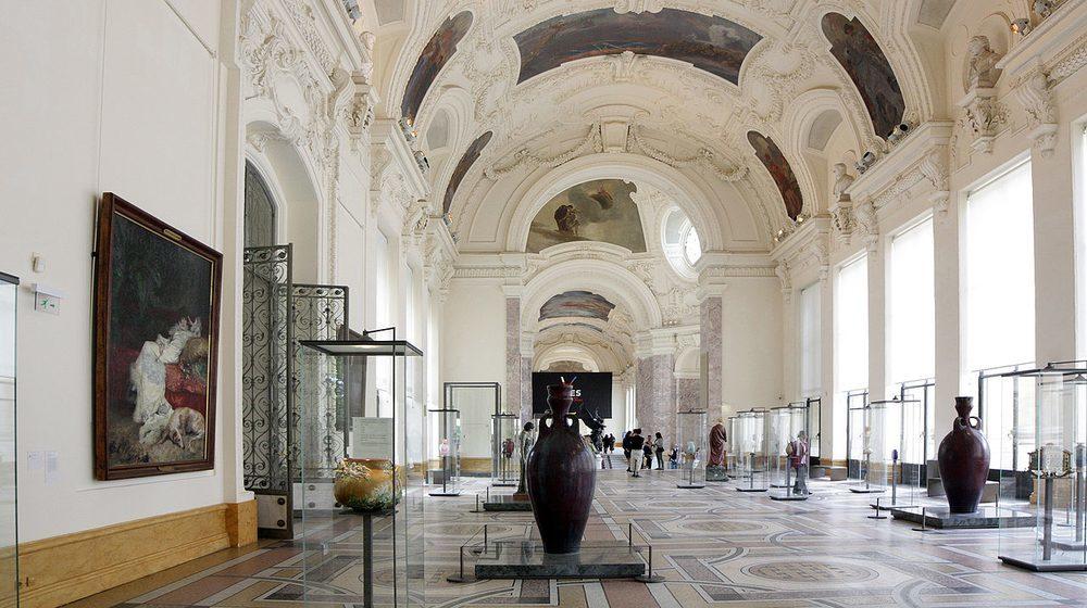 L'intérieur du Petit Palais