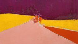 Nicolas de Staël, Agrigente, 1954, huile sur toile, 60 x 81 cm, Collection Particulière / Courtesy Applicat-Prazan, Paris © Adagp, Paris, 2018, photo : © Comité Nicolas de Staël