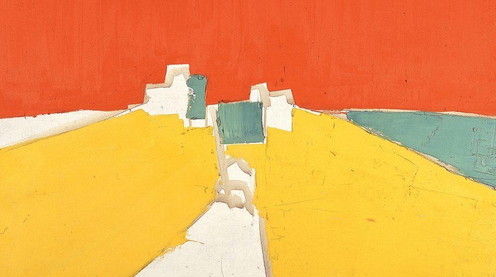 Nicolas de Staël, Agrigente (détail), 1953-54, huile sur toile, Collection particulière - Courtesy Lefevre Fine Art, Londres © Adagp Paris, 2018
