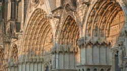 Portes sculptés de la Cathédrale de Bourges