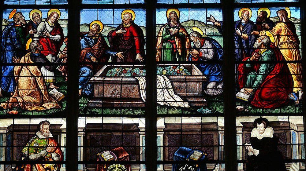 Détail des vitraux de la Cathédrale de Bourges
