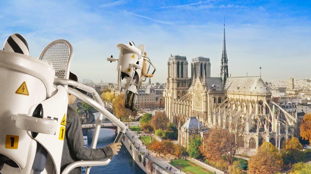 Survolez Paris avec FlyView © FlyView Paris