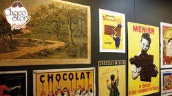 Les affiches anciennes au musée du Chocolat