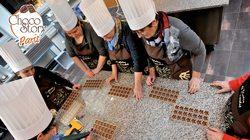 Un atelier sur la fabrication des chocolats