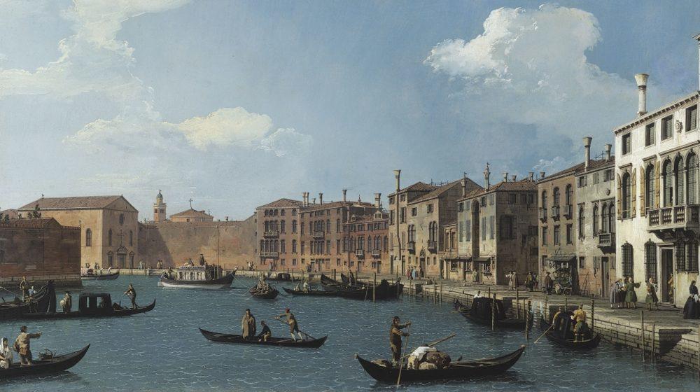 Vue du Canal de Santa Chiara, à Venise par Canaletto © Musée Cognacq-Jay/Roger Viollet