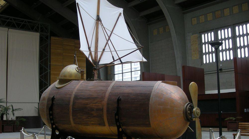 Le Nautilus de Fulton à la Cité de la Mer Cherbourg