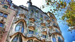 Casa Batlló à Barcelone par Antoni Gaudí